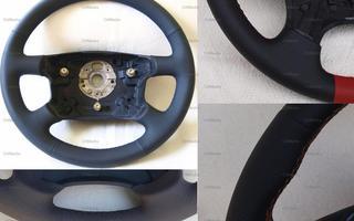 Leder und Naht nach Wunsch Lenkrad neu beziehen für Ford Fusion Lederlenkrad